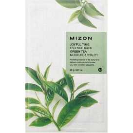 Mizon Joyful Time - Rewitalizująca maska w płacie - Green Tea
