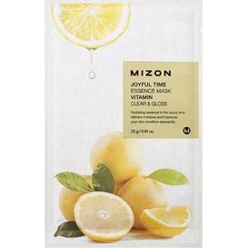 Mizon Joyful Time - Rozświetlająca maska w płacie - Vitamin, 23 g