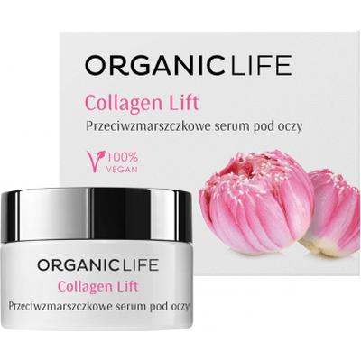 Przeciwzmarszczkowe serum pod oczy - Collagen Lift Organic Life