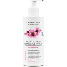 Organic Life Balsam do mycia i demakijażu twarzy odmładzający - Skin Essentials, 200 g