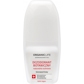 Organic Life Dezodorant botaniczny z aktywnym srebrem - bezzapachowy