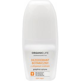 Organic Life Dezodorant botaniczny z aktywnym srebrem - grejpfrut cytryna, 50 ml