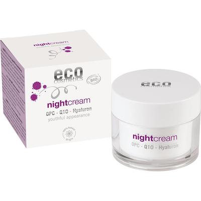 Night - Krem na noc z OPC Q10 i kwasem hialuronowym Eco Cosmetics