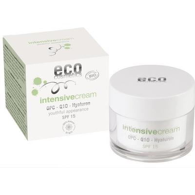 Intensive - Krem intensywnie pielęgnujący SPF 15 z OPC Q10 i kwasem hialuronowym Eco Cosmetics