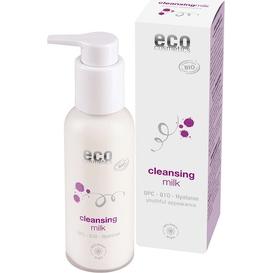 Eco Cosmetics Mleczko oczyszczające z OPC Q10 i kwasem hialuronowym