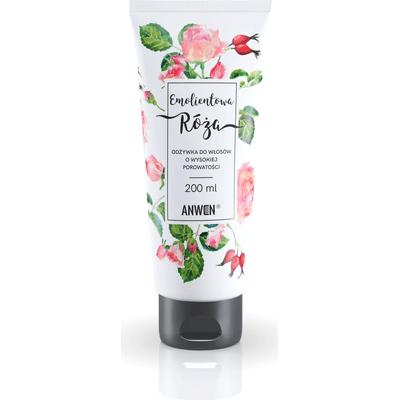 Odżywka do włosów o wysokiej porowatości - Emolientowa Róża Anwen