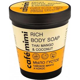 Cafe Mimi Mydło do ciała - Tajskie mango i kokos, 220 ml