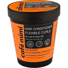 Cafe Mimi Balsam do włosów kręconych i falowanych - Posłuszne loki, 220 ml