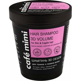 Cafe Mimi Szampon do włosów cienkich i łamliwych - 3D objętość, 220 ml