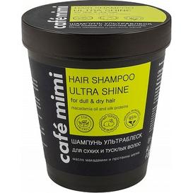 Cafe Mimi Szampon do włosów suchych i matowych - Ultrablask, 220 ml