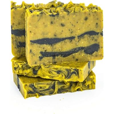 Mydło naturalne - Karotka z miodem i olejem migdałowym Miodowa Mydlarnia