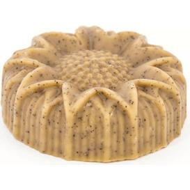 Miodowa Mydlarnia Mydło naturalne - Peeling morelowy z jedwabiem miodem i białą glinką, 90 g