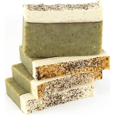 Mydło naturalne - Awokado z jedwabiem i mniszkiem lekarskim Miodowa Mydlarnia