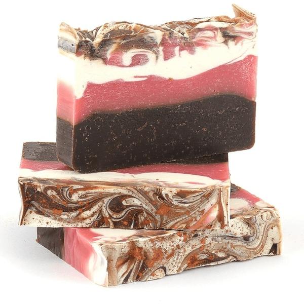 Mydło naturalne – Kakaowe z miodem malinowym i olejem ryżowym