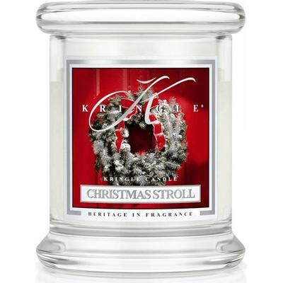 Świeca w słoiku mini - Christmas Stroll Kringle Candle