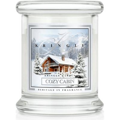 Świeca w słoiku mini - Cozy Cabin Kringle Candle