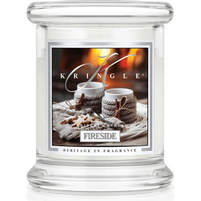 Świeca w słoiku mini - Fireside Kringle Candle