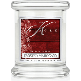 Kringle Candle Świeca w słoiku - Frosted Mahogany, 128 g