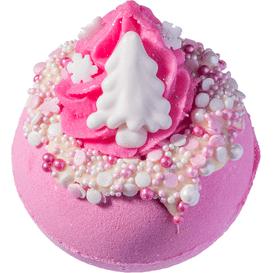 Bomb Cosmetics Musująca kula do kąpieli - Różowe święta
