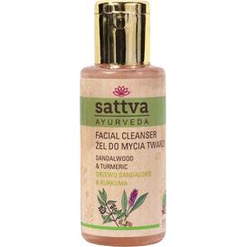 Sattva Ayurveda Żel do mycia twarzy - Drzewo sandałowe i kurkuma