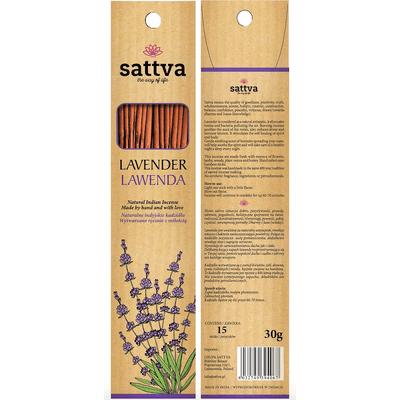Naturalne indyjskie kadzidła - Lawenda Sattva Ayurveda