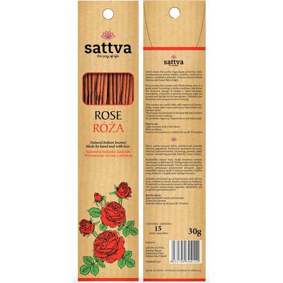 Naturalne indyjskie kadzidła - Róża Sattva Ayurveda