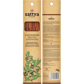 Sattva Ayurveda Naturalne indyjskie kadzidła - Drzewo sandałowe