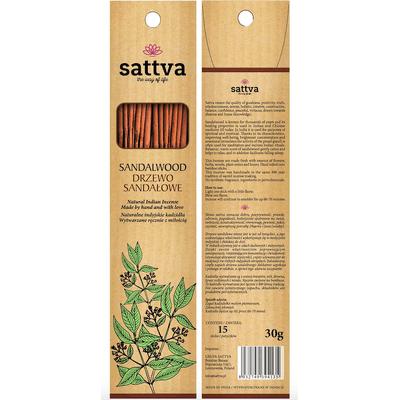 Naturalne indyjskie kadzidła - Drzewo sandałowe Sattva Ayurveda