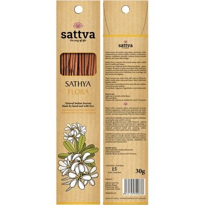 Naturalne indyjskie kadzidła - Sathya flora Sattva Ayurveda