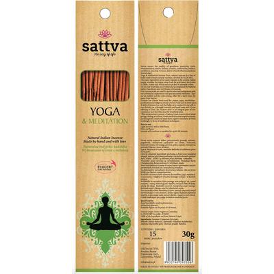 Naturalne indyjskie kadzidła - Yoga & meditation Sattva Ayurveda