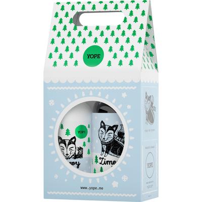 Zestaw mydło + balsam - Zimowy las Yope