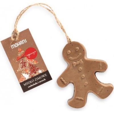 Organiczne mydło zimowe Mohani - czekolada i orzech Mohani