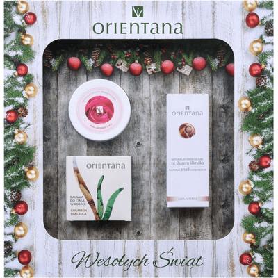 Zestaw kosmetyków do pielęgnacji ciała Orientana